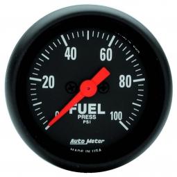 "0-100PSI Auto Meter 7363 2-1//16/"" NV Electric Fuel Pressure Gauge Stepper Motor"
