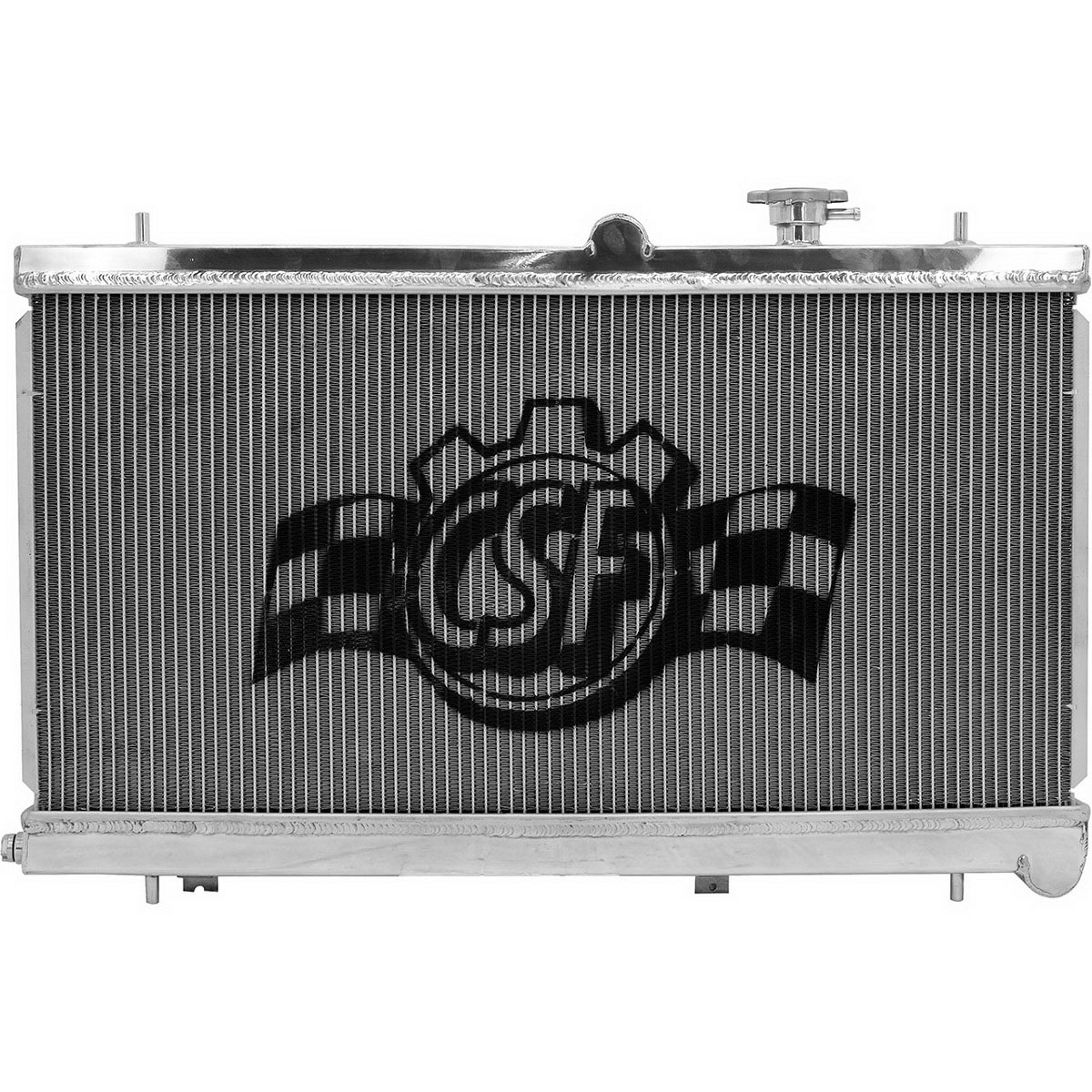 Csf Aluminum Radiator W Filler Neck 2002 2007 Wrx Amp Sti Mt