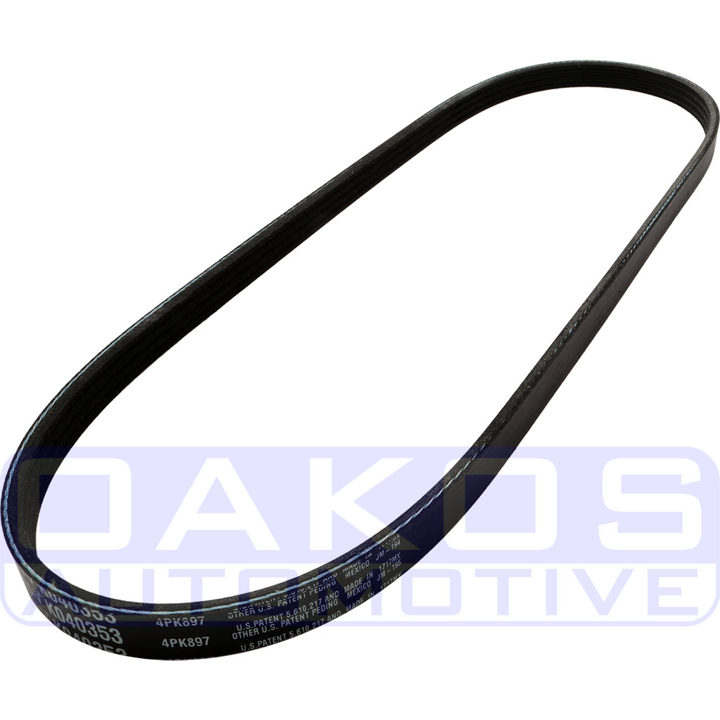 Gate K on 2000 Ford Mustang Serpentine Belt