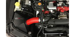 "GrimmSpeed ""StealthBox"" Cold Air Intake - Red, 2015-2017 STi"