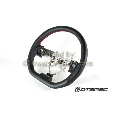 GTSPEC D-Shaped Steering Wheel, 2008-2014 WRX & STi