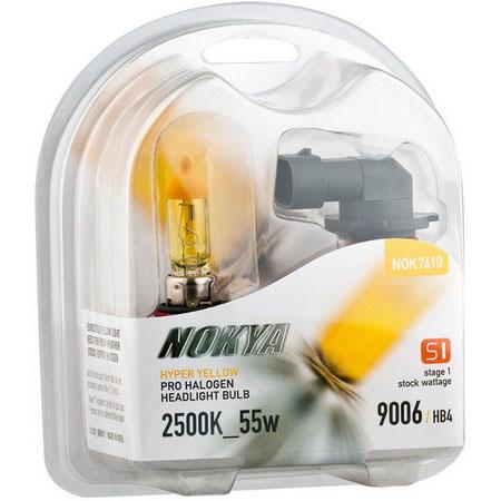 Nokya Hyper Yellow 9006 Headlight Bulbs 2500k Pair 2