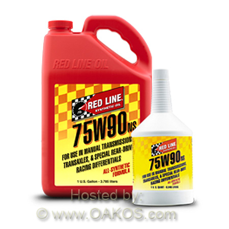 Redline 75W90NS GL-5 Gear Oil (1 Quart)
