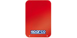 Sparco Mud Flaps (Red, Pair, Universal)