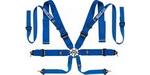 "Sparco 8-Point Double Shoulder Belt (3"" Lap, 3"" Shoulder, 2"" Collar), Black"