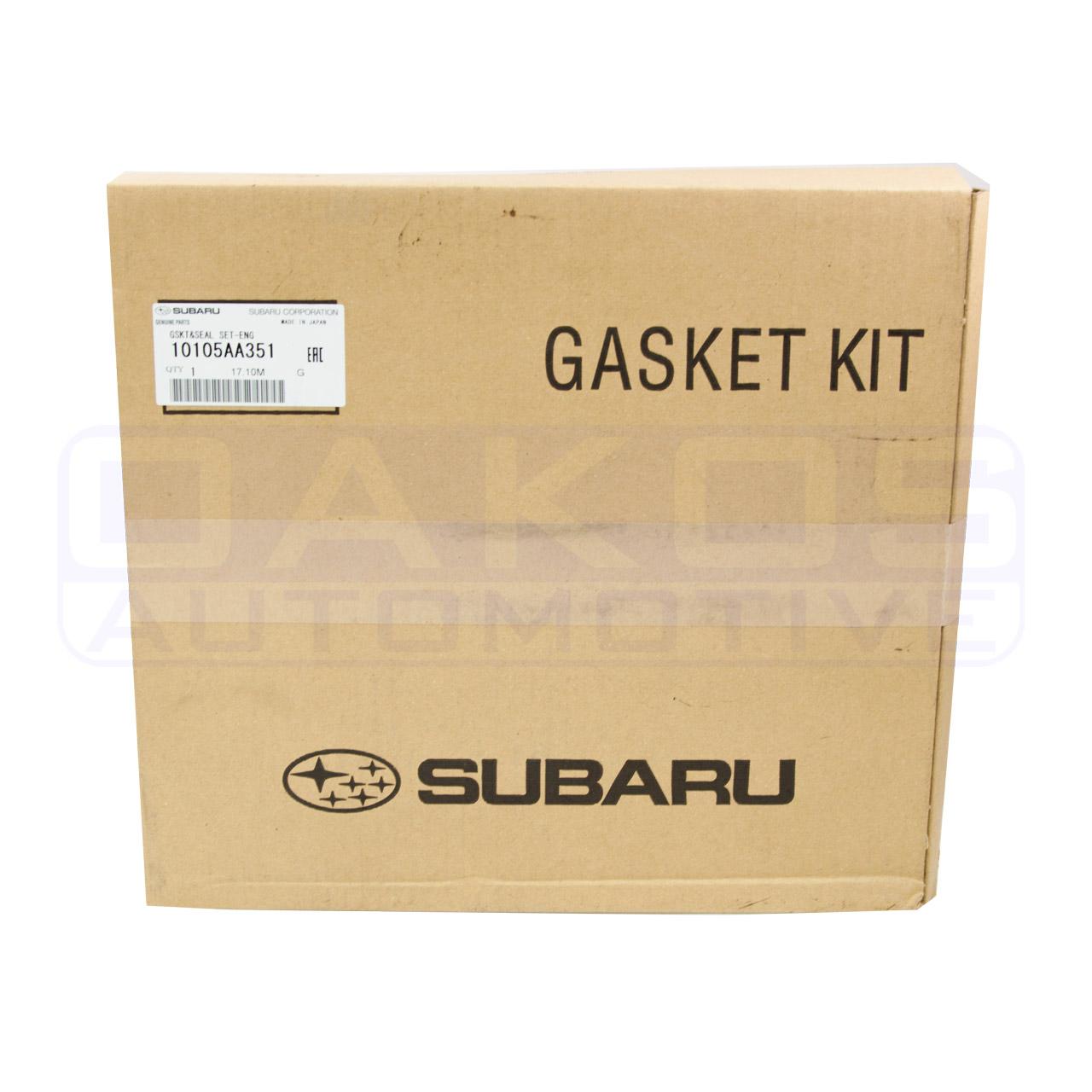 2010 Mazda Cx 9 Head Gasket: Subaru (OEM) Engine Overhaul Gasket Kit, 2004-2005 WRX