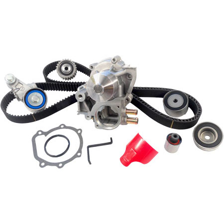 Gates Timing Belt Replacement Kit w/ WP, '05-'10 WRX/STi