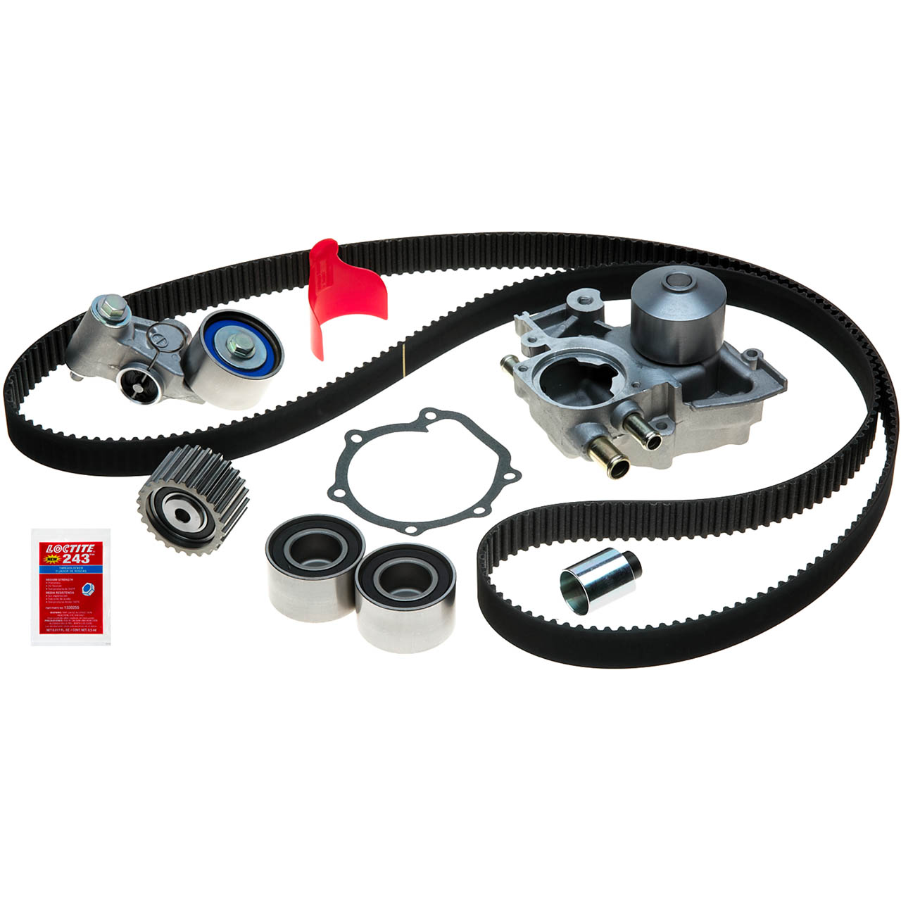 Gates Timing Belt Replacement Kit w/ Water Pump, '02-'03 WRX