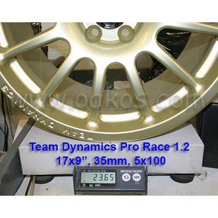 team dynamics pro race 1 2 wheels 17x9 35 5x100 set 4 mt. Black Bedroom Furniture Sets. Home Design Ideas